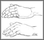 Как научиться рисовать руку человека
