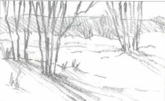 Как рисовать природу или пейзаж
