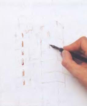 Как научиться рисовать здание