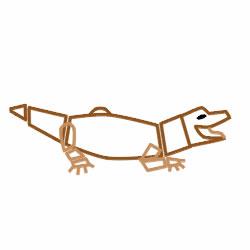 Как научиться рисовать крокодила карандашом