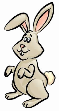 Как рисовать прикольного кролика.Нарисованный кролик.